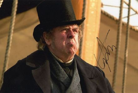 Timothy Spall, English actor, signed 12x8 inch photo.